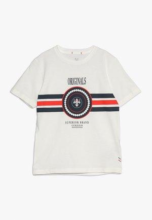JORVOYAGE TEE CREW NECK JUNIOR - Camiseta estampada - cloud dancer