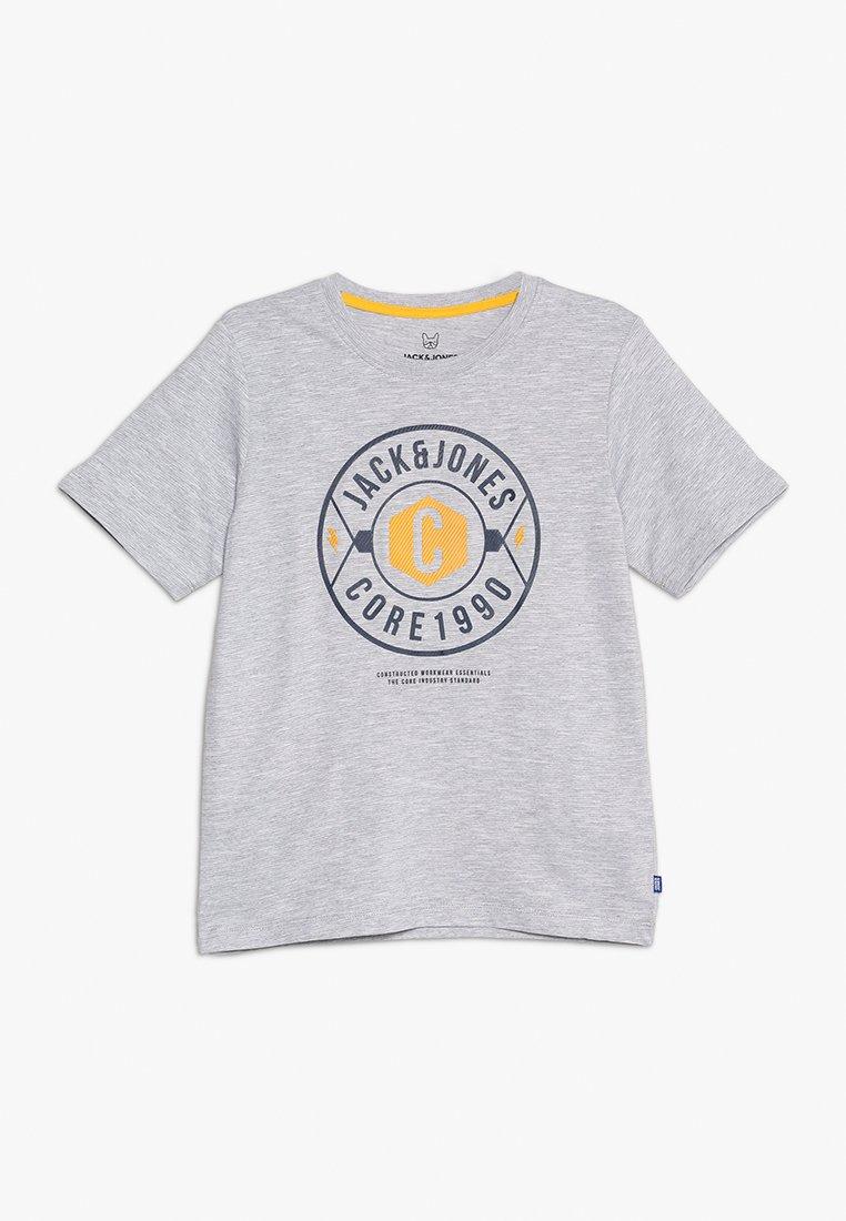 Jack & Jones Junior - JCOFRESCO TEE CREW NECK JUNIOR - T-shirts print - white