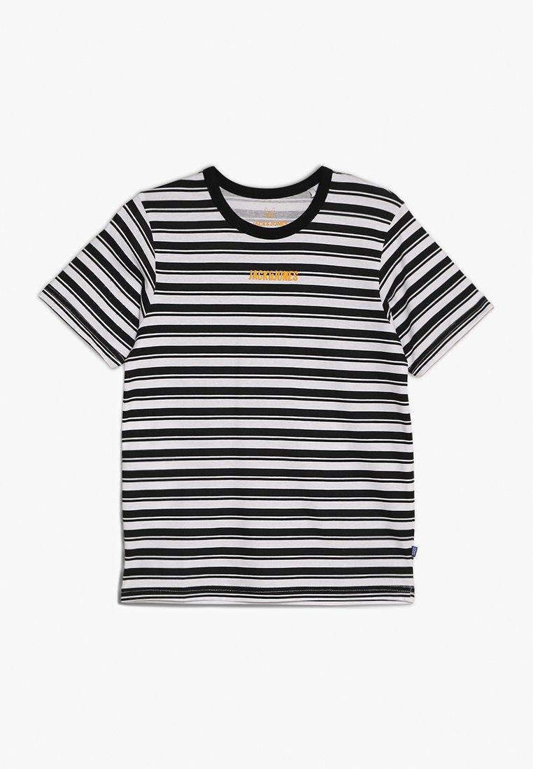 Jack & Jones Junior - JCOSUMMER TEE CREW NECK JUNIOR - Print T-shirt - black