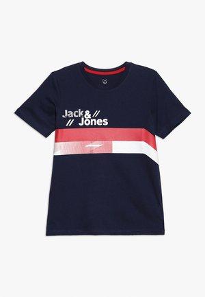 JCOSTAIRS TEE CREW NECK JUNIOR - Camiseta estampada - maritime blue