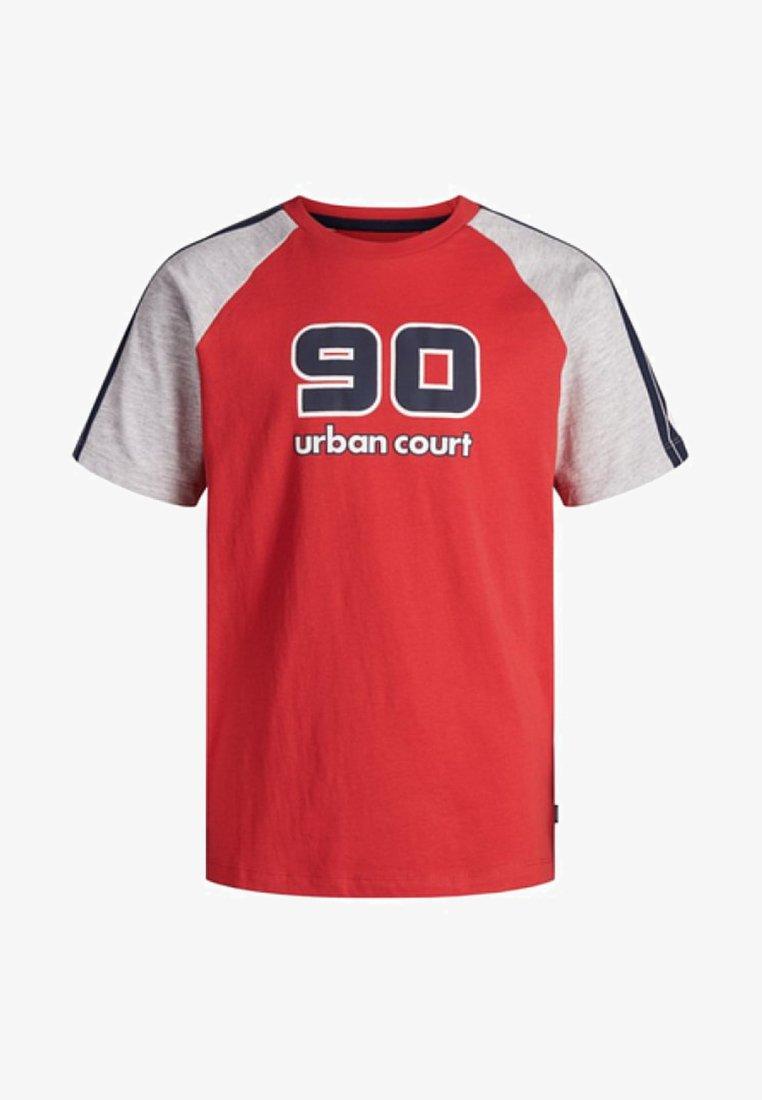 Jack & Jones Junior - T-shirts print - chinese red