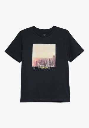 JORHUWARD TEE CREW NECK - Camiseta estampada - total eclipse