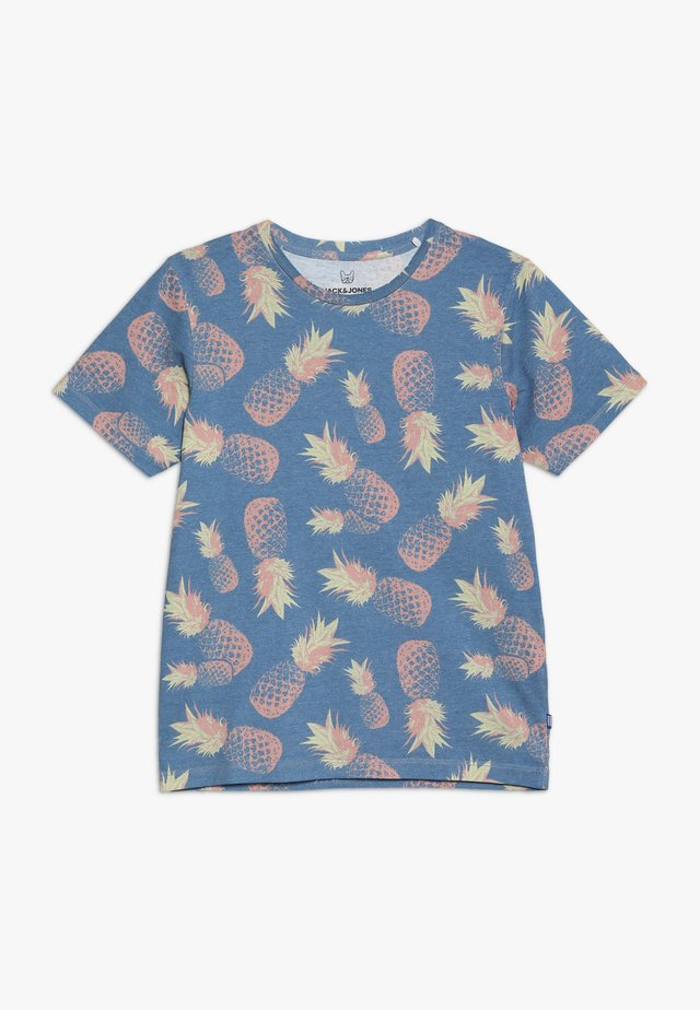 JORFUNK TEE CREW NECK - T-Shirt print - ensign blue