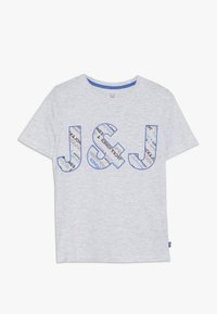 Jack & Jones Junior - JCOBO TEE - T-shirt imprimé - white melange - 0