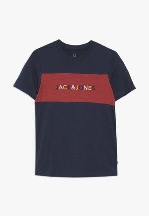 JORALBAS TEE CREW NECK JUNIOR - Camiseta estampada - total eclipse