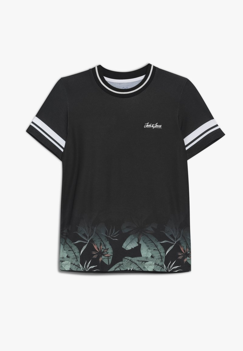 Jack & Jones Junior - JORLEAF TEE CREW NECK - Print T-shirt - tap shoe