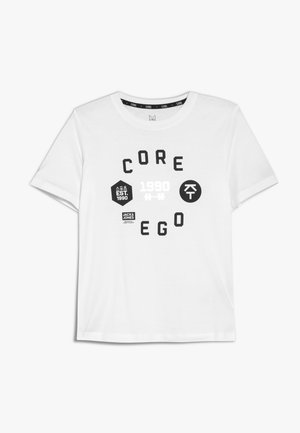 JCOTOBY TEE JUNIOR - T-shirt imprimé - white