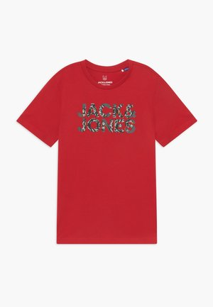 JORFLIPFLOP TEE CREW NECK - T-shirt print - barbados cherry