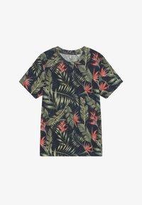 Jack & Jones Junior - JORELI TEE CREW NECK - Print T-shirt - navy blazer - 2