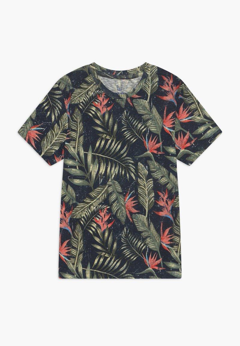 Jack & Jones Junior - JORELI TEE CREW NECK - Print T-shirt - navy blazer