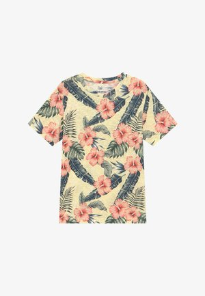 JORELI TEE CREW NECK - Print T-shirt - multi-coloured