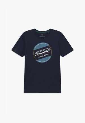 JORTONNI TEE CREW NECK - Print T-shirt - navy blazer