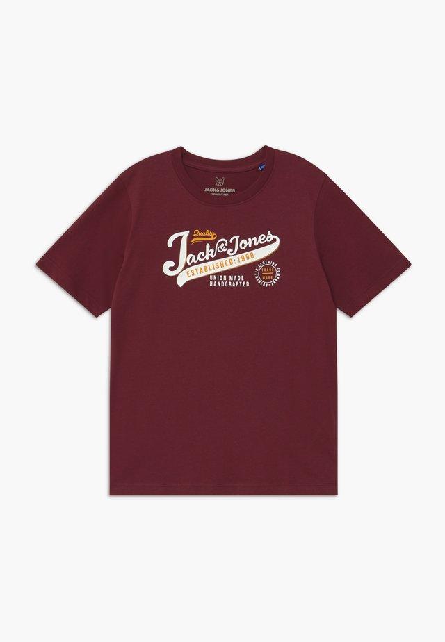 JJELOGO TEE  - Camiseta estampada - port royale