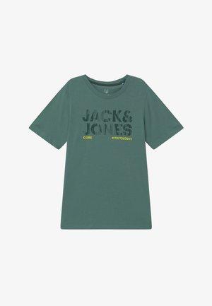 JCOBOOSTER TEE CREW NECK - Camiseta estampada - north atlantic