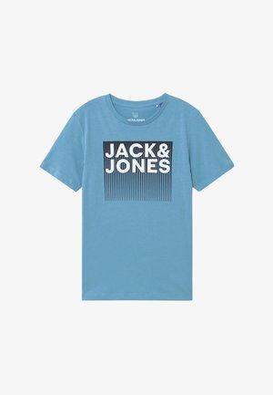 JCOBOOSTER TEE CREW NECK - T-shirt print - dusk blue