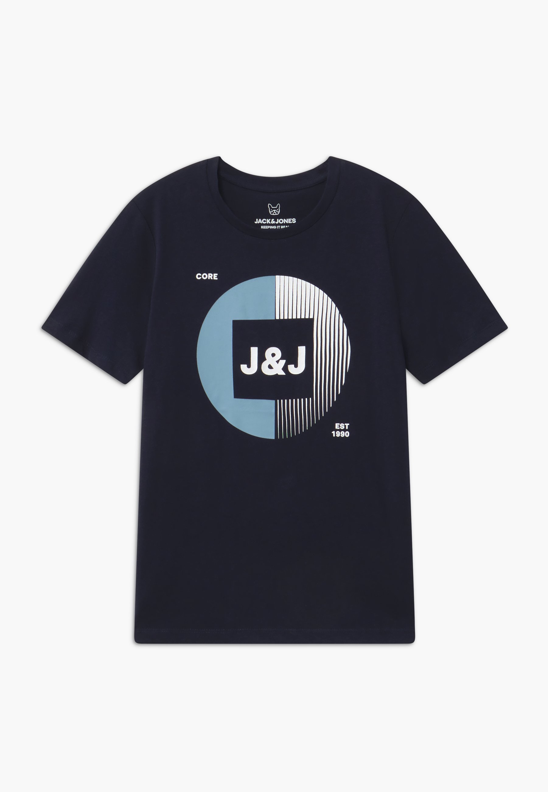 Große Förderung Jack & Jones Junior JCOBOOSTER TEE CREW NECK - T-Shirt print - sky captain | Damenbekleidung 2020