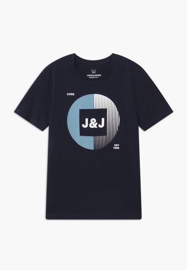 JCOBOOSTER TEE CREW NECK - Print T-shirt - sky captain