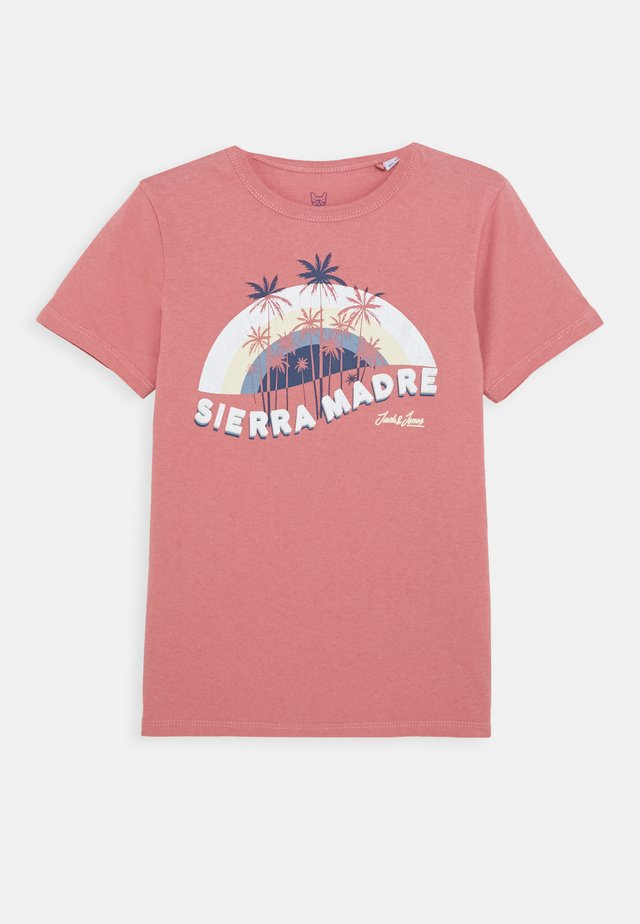 JORAIDENS TEE CREW NECK - T-Shirt print - rosette