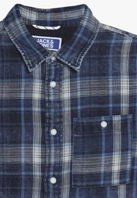 Jack & Jones Junior - JORHENRI JUNIOR - Shirt - dark blue denim - 3