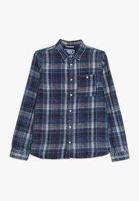 Jack & Jones Junior - JORHENRI JUNIOR - Shirt - dark blue denim - 0