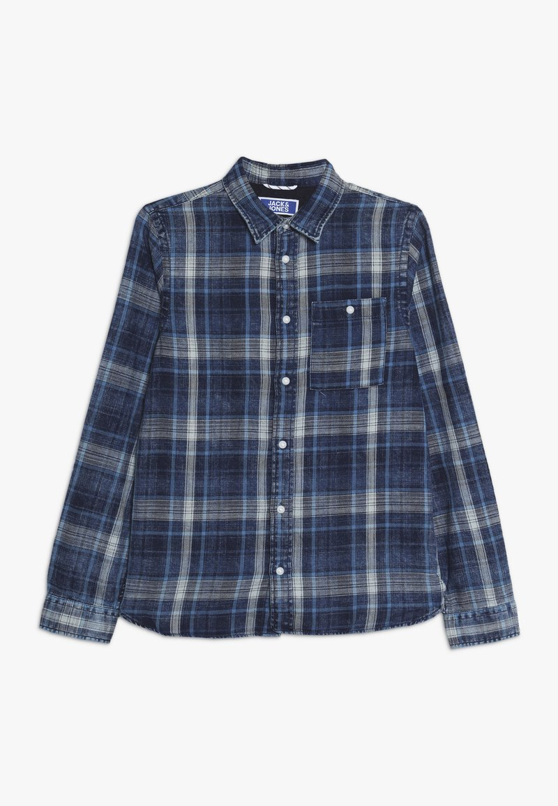 Jack & Jones Junior - JORHENRI JUNIOR - Shirt - dark blue denim
