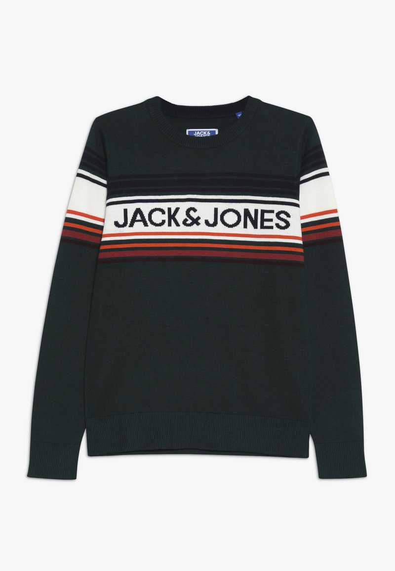 Jack & Jones Junior - JORPEAK KNIT CREW NECK - Strikkegenser - sea moss