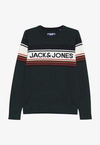 Jack & Jones Junior - JORPEAK KNIT CREW NECK - Strikkegenser - sea moss - 2