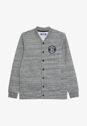 JCOJORDAN BASEBALL - Mikina na zip - light grey melange