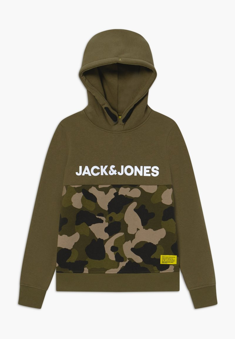 Jack & Jones Junior - JCOLUDO HOOD - Hoodie - winter moss