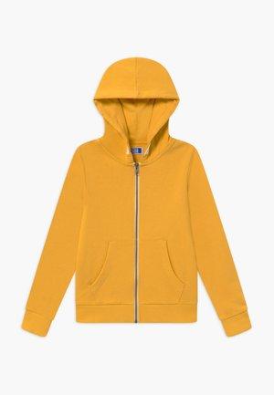 JJEHOLMEN ZIP HOOD - Felpa aperta - yolk yellow