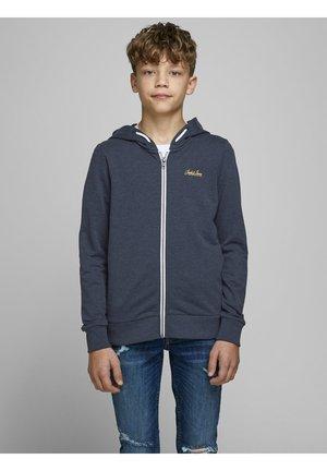 Zip-up hoodie - navy blazer