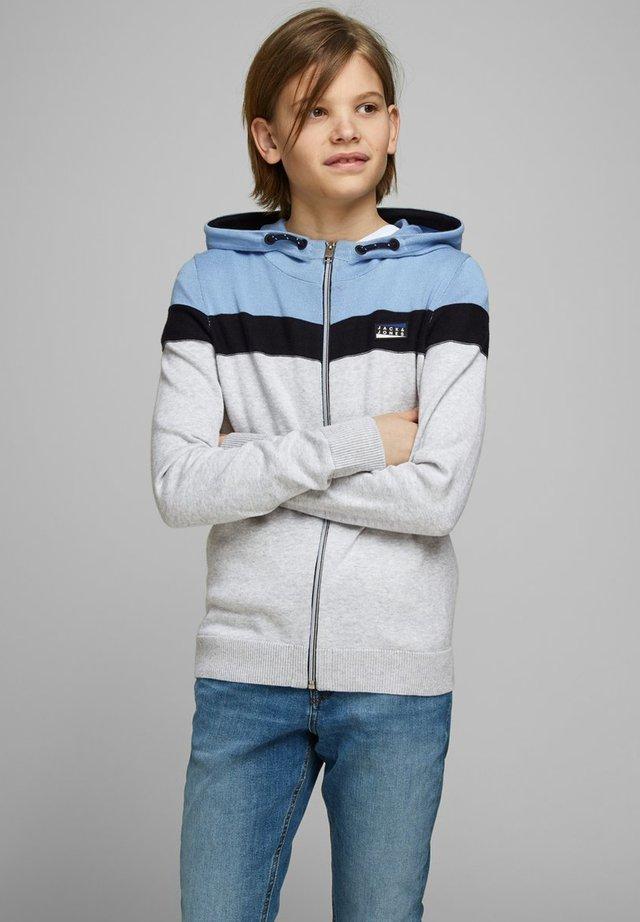 Zip-up hoodie - dusk blue