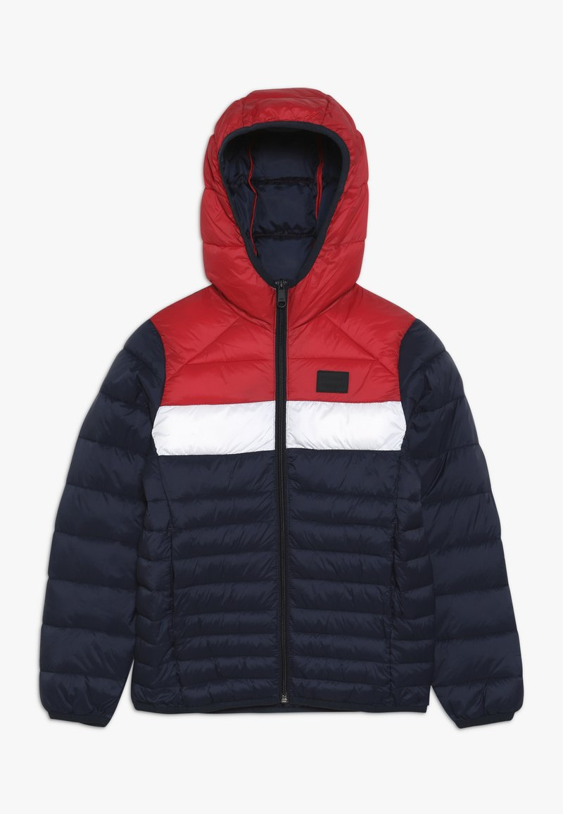 Jack & Jones Junior - JJEBOMB PUFFER  - Chaqueta de invierno - scarlet