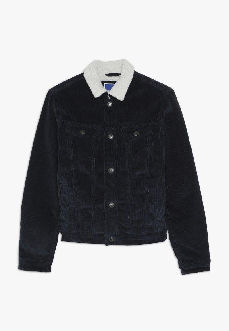 Jack & Jones Junior - JJIALVIN JJSHERPA  - Outdoor jakke - navy blazer