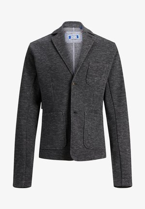 blazer - black denim