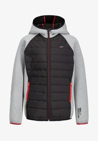 Jack & Jones Junior - KAPUZEN - Jas - light grey melange - 0