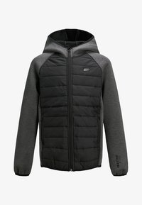 Jack & Jones Junior - KAPUZEN - Jas - black - 0