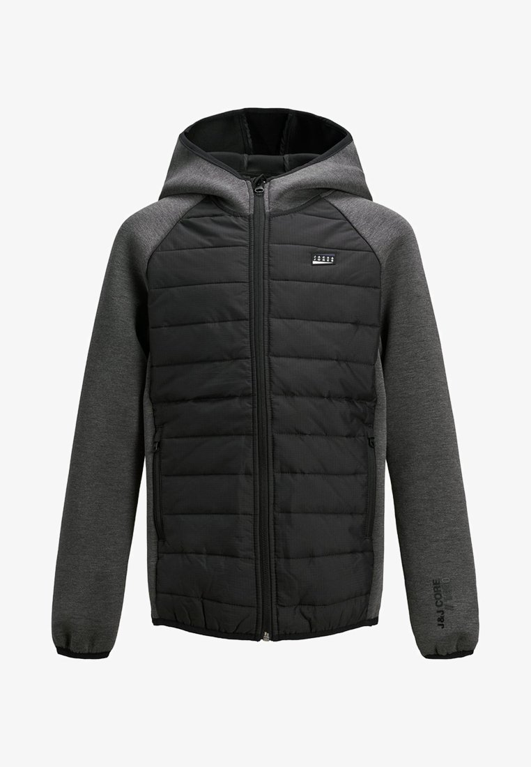Jack & Jones Junior - KAPUZEN - Jas - black