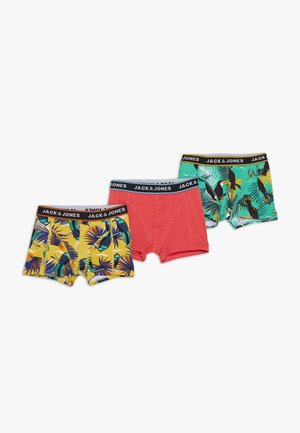 JACSUMMER ANIMALS TRUNKS 3 PACK - Shorty - diva pink/yolk yellow