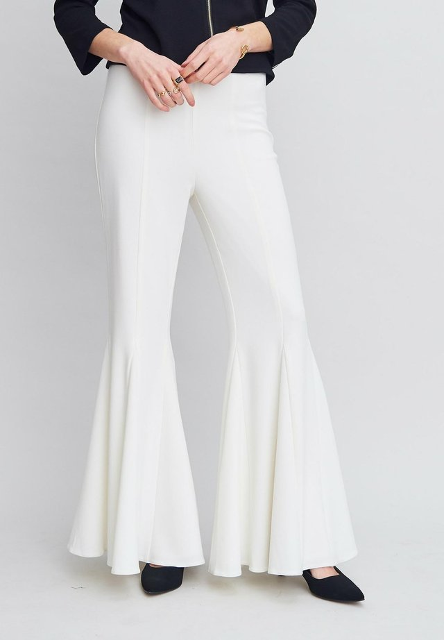 VEGAS  - Trousers - offwhite
