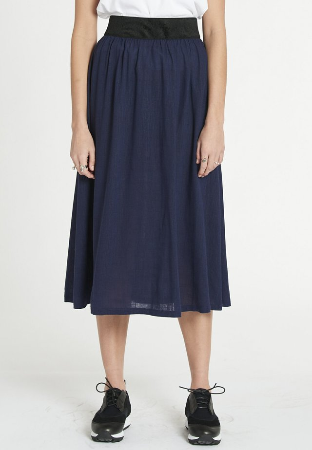 RHYM - A-line skirt - navy