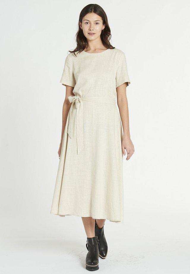 ANA - Korte jurk - ecru