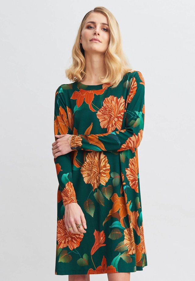 MAGNOLIA - Jersey dress - green