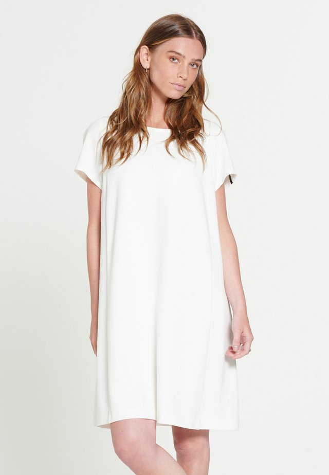 SIMONE - Jersey dress - offwhite