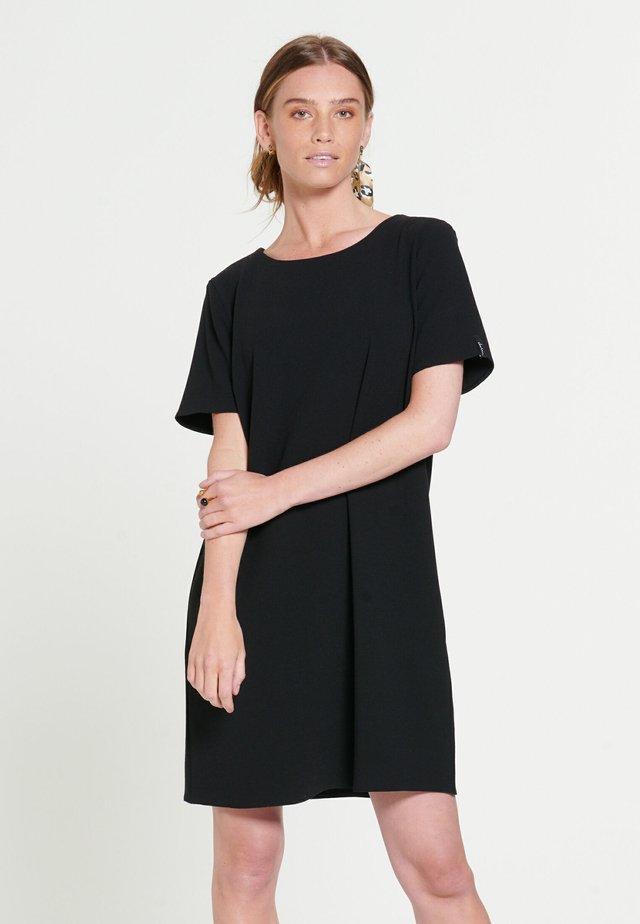 BELLA - Korte jurk - black