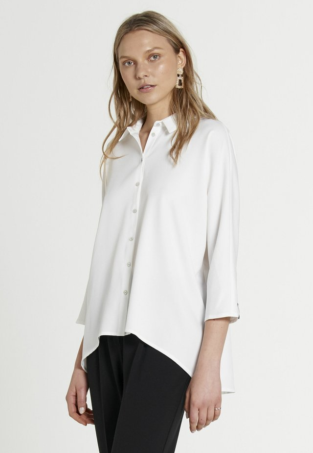FOUCAULT MAROCAIN - Button-down blouse - off-white