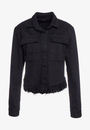 FRAY SHANNAH JACKET - Denim jacket - black