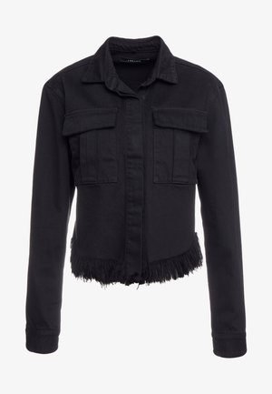 FRAY SHANNAH JACKET - Veste en jean - black