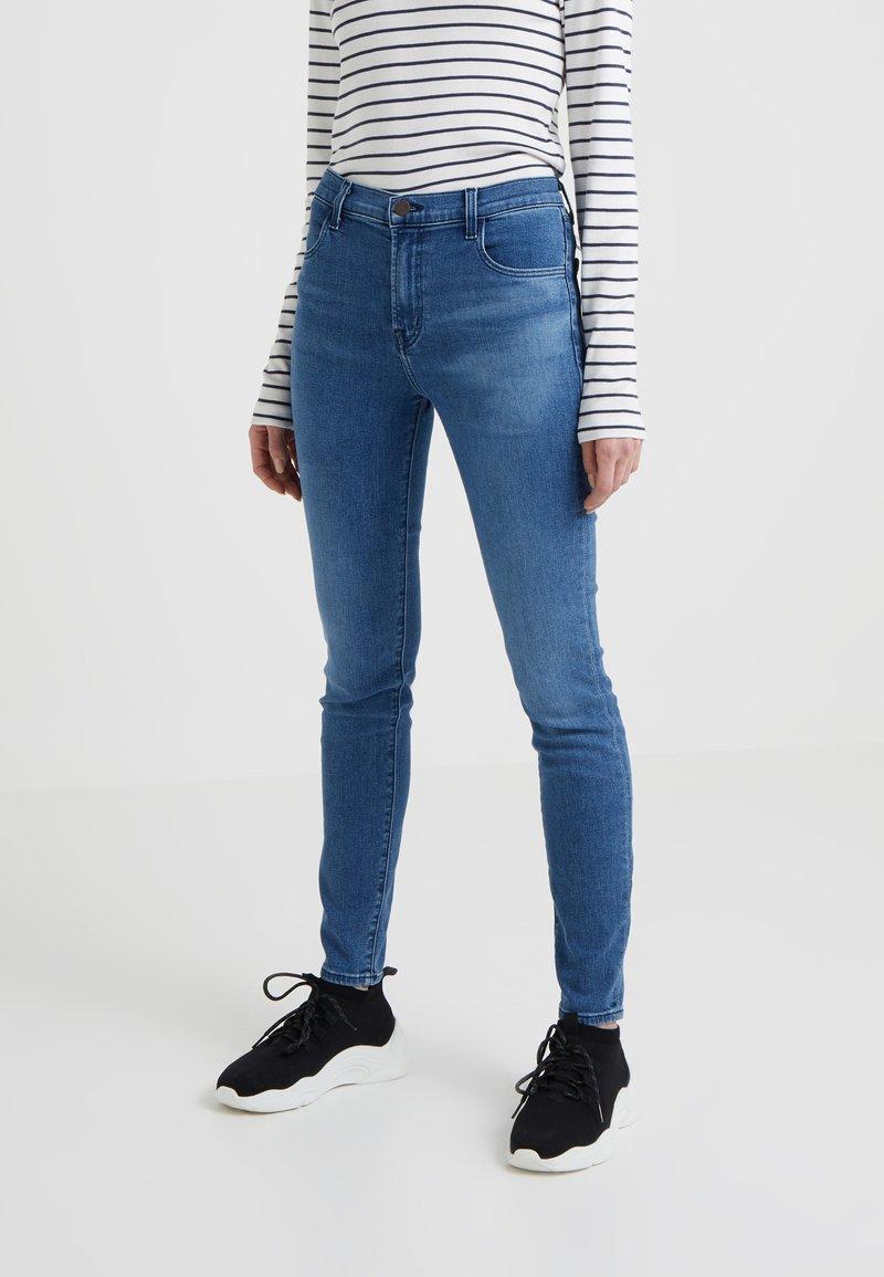 J Brand - MARIA HIGH RISE - Jeans Skinny Fit - blue denim