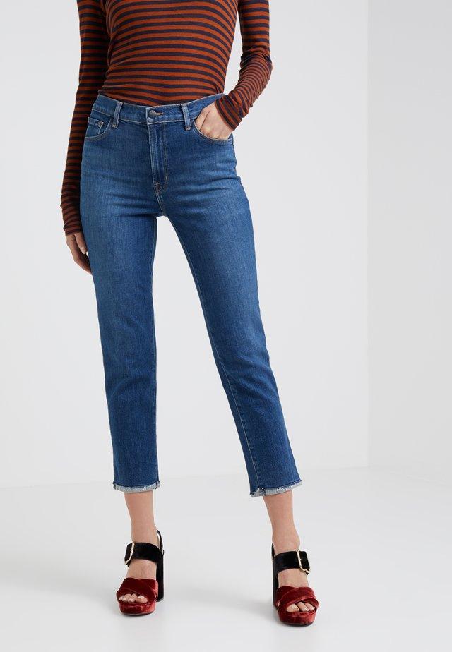 RUBY  HIGH RISE CROP CIGARETTE - Jeans Skinny Fit - archer